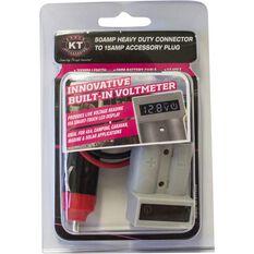 Connectors - 50amp, voltmeter, 15amp Accessory Plug, , scaau_hi-res