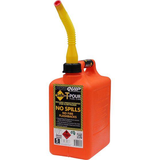 Pro Quip Safe-T-Pour Jerry Can - 5 Litre, , scaau_hi-res