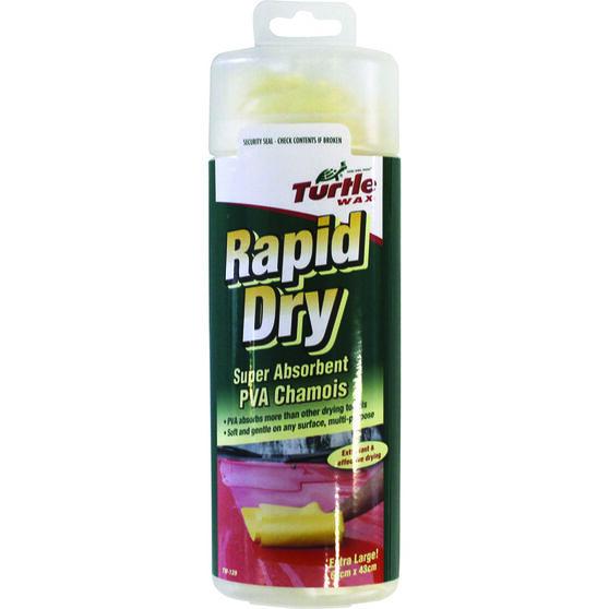 Turtle Wax Rapid Dry Chamois - 64cm X 43cm, , scaau_hi-res