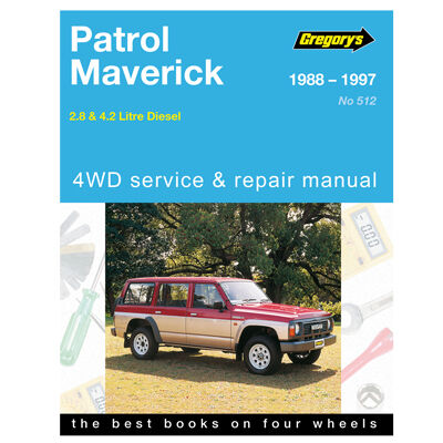 gregory s car manual for nissan patrol ford maverick 1988 1997 rh supercheapauto com au