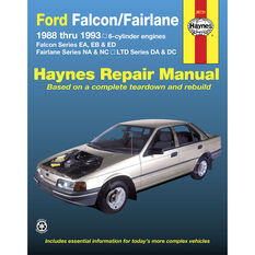 Haynes Car Manual For Ford Falcon / Fairlane 1988-1993 - 36731, , scaau_hi-res