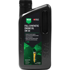 SCA Full Synthetic Engine Oil 5W-30 1 Litre, , scaau_hi-res