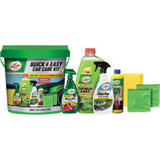 Turtle Wax Quick & Easy Car Care Kit 8pce, , scaau_hi-res