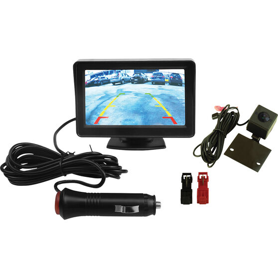 """SCA SCARC4000 Wireless Reversing Camera with 4.3"""" Monitor, , scaau_hi-res"""