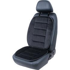 Cabin Crew Velour Seat cushion - Black Single, , scaau_hi-res