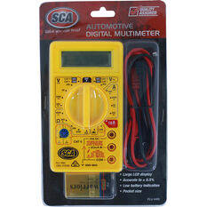 Best Buy Multimeter - Digital, 12V, Automotive, , scaau_hi-res