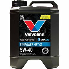 Valvoline Synpower MST Engine Oil 5W-40 10 Litre, , scaau_hi-res