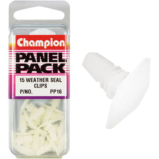 Champion Weather Seal Clips - PP16inch, Panel Pack, , scaau_hi-res