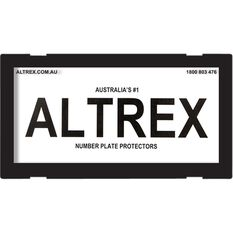 Altrex Motorbike Number Plate Protector - No Lines, 9DMBNL, , scaau_hi-res