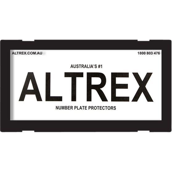 Altrex Motorbike Number Plate Protector No Lines 9DMBNL, , scaau_hi-res