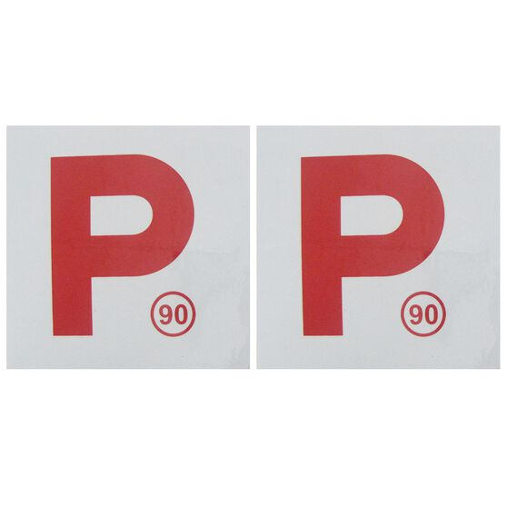SCA P Plate - Magnetic, NSW (90), 2 Pack, , scaau_hi-res