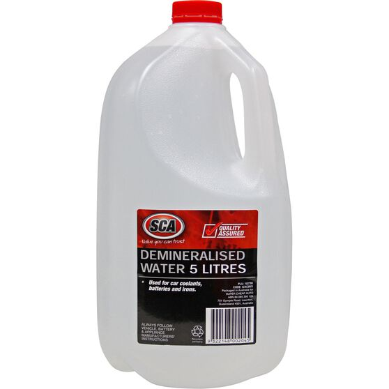 SCA Demineralised Water - 5 Litre, , scaau_hi-res