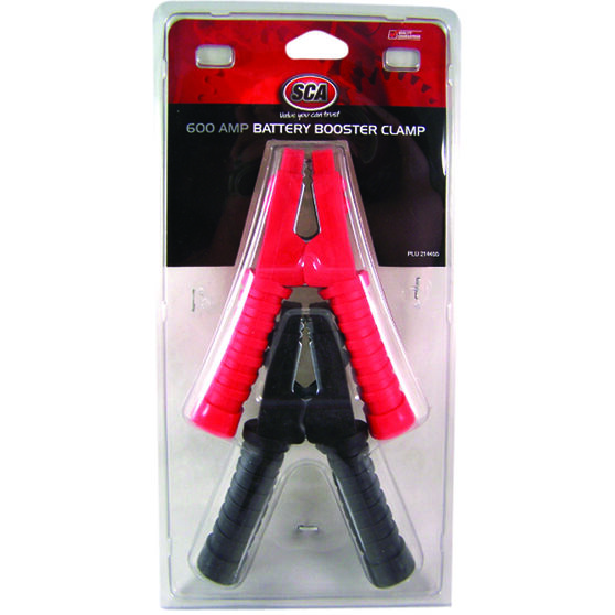 SCA Battery Clamps - Booster, 2 Pack, 600 AMP, , scaau_hi-res