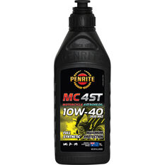 Penrite MC-4ST Full Synthetic Motorcycle Oil 10W-40 1 Litre, , scaau_hi-res