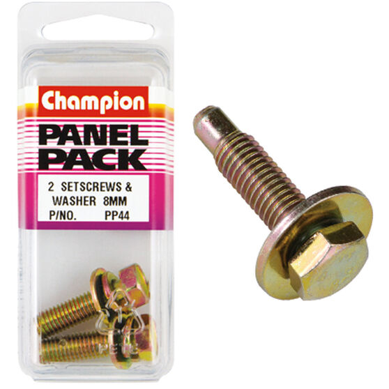 Champion Screws and Washers - 8mm, Panel Pack, , scaau_hi-res