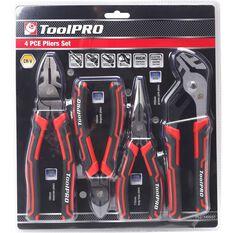 ToolPRO Plier Set - 4 Pieces, , scaau_hi-res