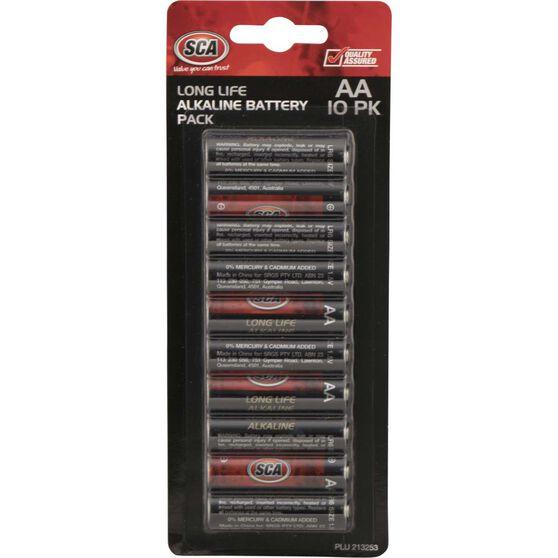 SCA Alkaline AA Batteries - 10 Pack, , scaau_hi-res