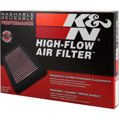 K&N Air Filter 33-2393 (Interchangeable with A1633), , scaau_hi-res
