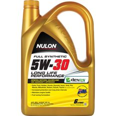 Nulon Full Synthetic Long Life Engine Oil - 5W-30 6 Litre, , scaau_hi-res