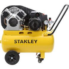 Stanley Air Compressor 2.5HP Belt Driven 50 Litre tank, , scaau_hi-res