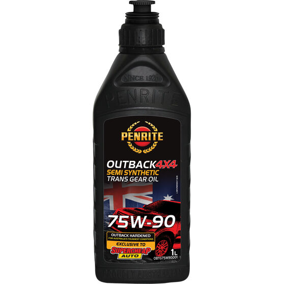 Penrite Outback 4x4 Trans Gear Oil - 75W-90, 1 Litre, , scaau_hi-res