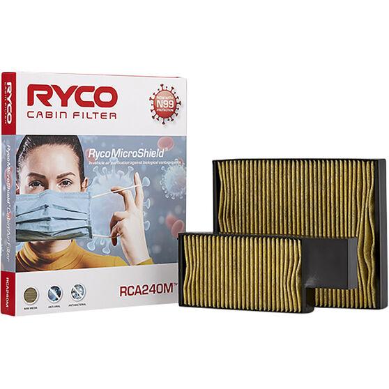 Ryco Cabin Air Filter N99 MicroShield RCA240M, , scaau_hi-res