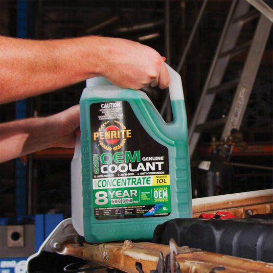 Penrite Green OEM Coolant Concentrate 5 Litre, , scaau_hi-res