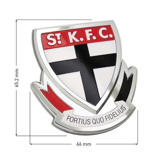 St Kilda AFL Supporter Logo - 3D Chrome Finish, , scaau_hi-res