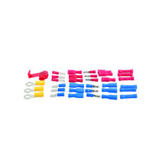 Electrical Terminals - Female Blade, Red, 6.3mm, 10 Pack, , scaau_hi-res