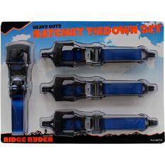 Ratchet Tie Down - 4.65m, 650kg, 4 Pack, , scaau_hi-res