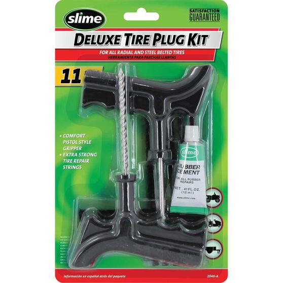 Slime Tyre Repair Kit - Tyre Reamer, 11 Piece, , scaau_hi-res