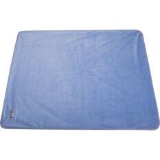 Cabin Crew Kids Travel Blanket - Blue & Grey, , scaau_hi-res