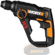 Worx Rotary Hammer 3 in 1 Skin - 20V Li-Ion, , scaau_hi-res