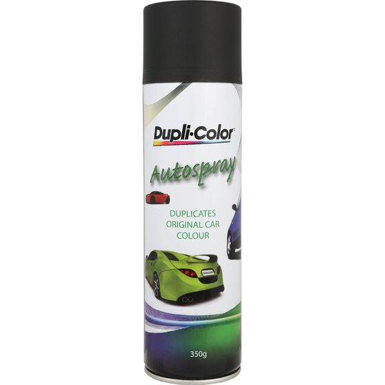 Dupli-Color Touch-Up Paint Matt Black 350g PS112, , scaau_hi-res