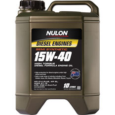 Semi Synthetic High Torque Diesel Oil - 15W-40, 10 Litre, , scaau_hi-res