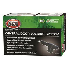 Central Locking System - 2 or 4 Door, Remote Control, , scaau_hi-res