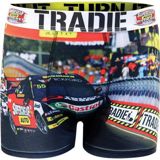 Tradie Mens Bathurst Raceday Trunks, Raceday, scaau_hi-res