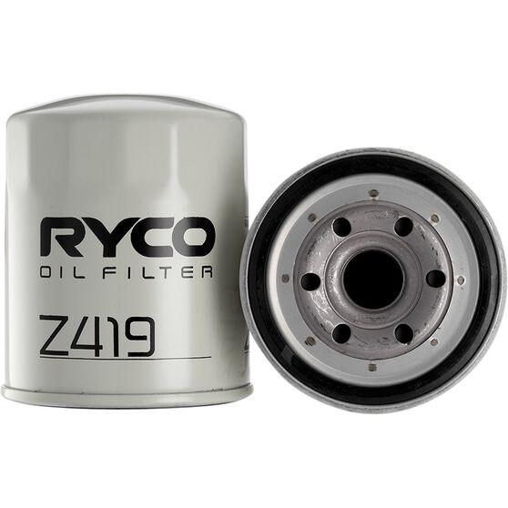 Ryco Oil Filter - Z419, , scaau_hi-res