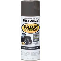 Rustoleum Aerosol Paint - Specialty Farm and Implement Enamel, Massey Ferguson Grey, , scaau_hi-res