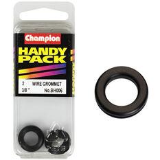 Champion Wiring Grommet - 3 / 8inch, BH006, Handy Pack, , scaau_hi-res