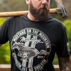 Mustang Men's T-Shirt Black, , scaau_hi-res