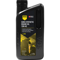 SCA Semi Synthetic Engine Oil 10W-40 1 Litre, , scaau_hi-res