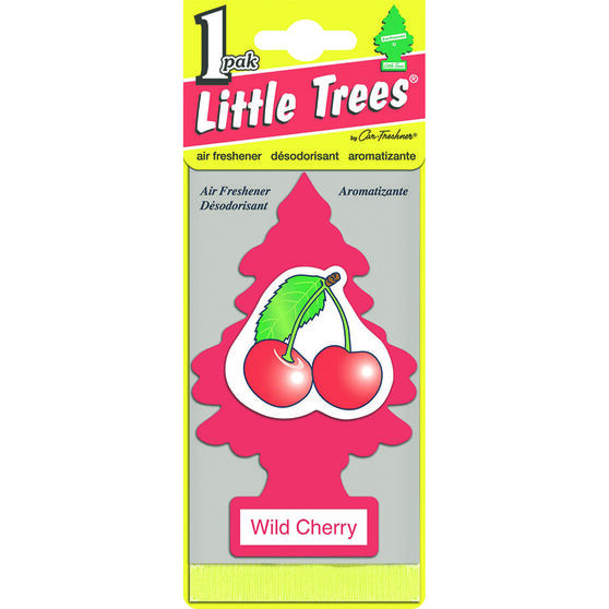 Little Trees Air Freshener - Wild Cherry, 1 Pack, , scaau_hi-res