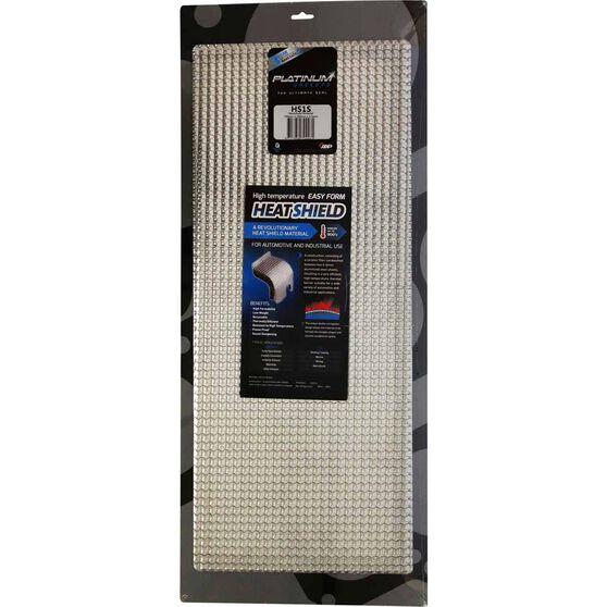 Platinum Heatshield Material HS1S - 700 x 290mm, , scaau_hi-res