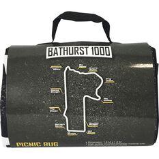 SCA Bathurst Picnic Rug - Bathurst Map, 1.5m x 1.5m, , scaau_hi-res