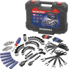 Workpro Tool Kit - 145 Piece, , scaau_hi-res