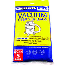 Vacuum Bags - 25 Litre, 5 Pack, , scaau_hi-res