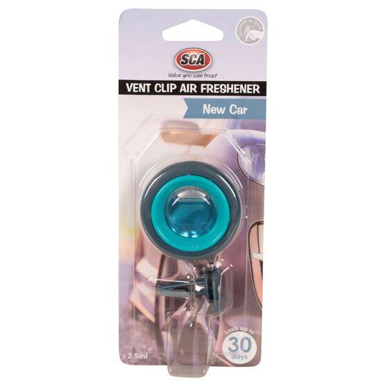 SCA Air Freshener, Vent Clip - New Car, , scaau_hi-res
