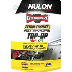 Nulon Ezy Squeeze Full Synthetic Top Up Oil 900mL, , scaau_hi-res
