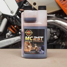 Penrite MC-2 Synthetic Motorcycle Oil - 1 Litre, , scaau_hi-res